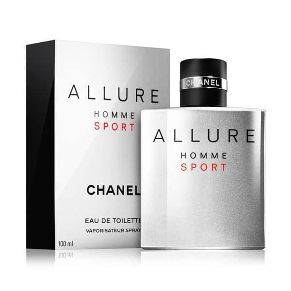 ادو تویلت مردانه Allure Homme Sport شانل حجم 100 میلی لیتر