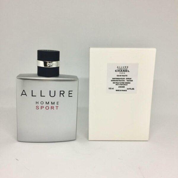 تستر ادوتویلت Allure Homme Sport شانل مردانه حجم 100 میلی لیتر