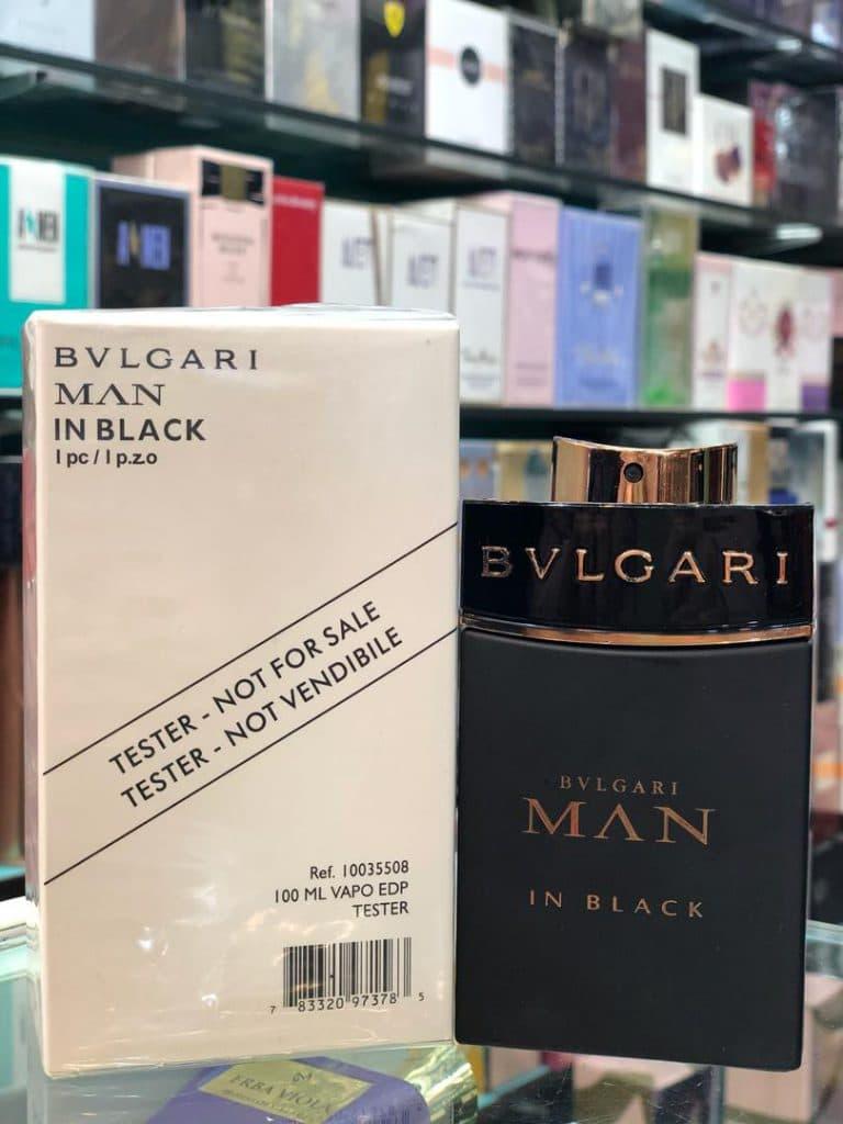 تستر ادو پرفیوم BVLGARI Man IN Black مردانه حجم 100ML