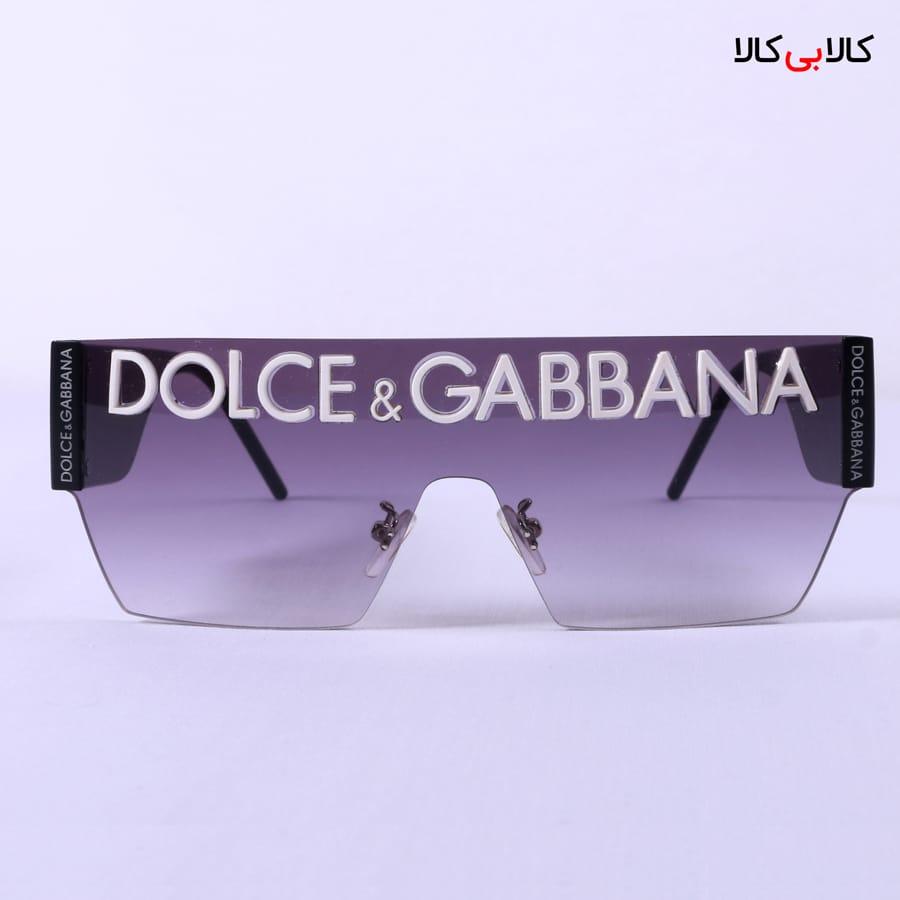 عینک آفتابی دولچه گابانا مدل فشن FN89645 آبی