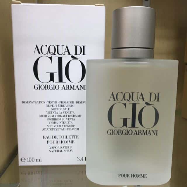 تستر ادو تویلت Acqua di Gio Giorgio Armani Pour Homme مردانه حجم 100 میلی لیتر