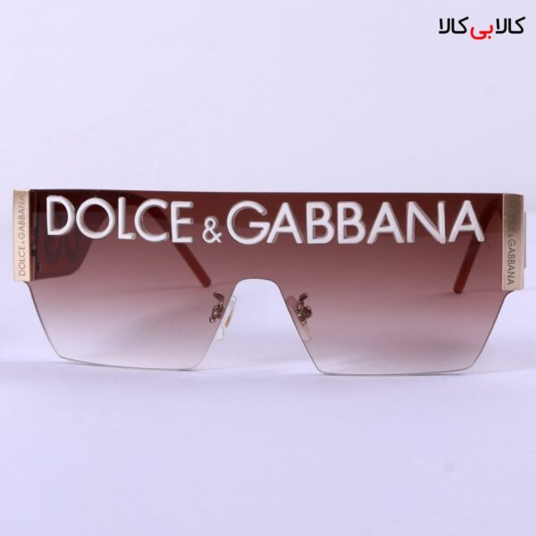 عینک آفتابی Dolce And Gabbana مدل فشن FN89645 زرشکی