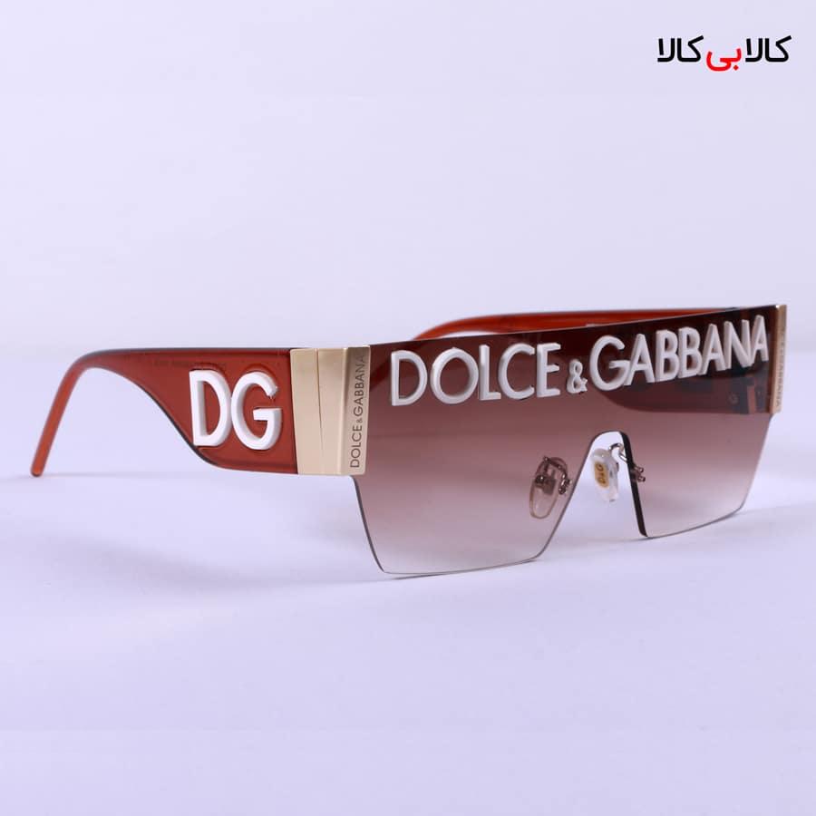 عینک آفتابی Dolce And Gabbana مدل فشن FN89645 زرشکی