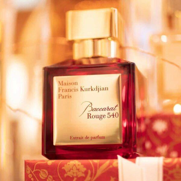 پرفیوم میسون فرانسیس کورکجان Baccarat Rouge 540 Extrait de Parfum مردانه زنانه حجم 70 میلی لیتر