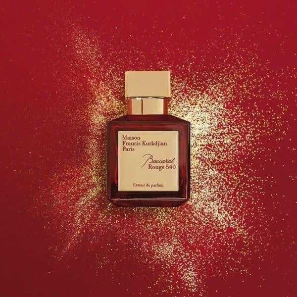 تستر پرفیوم میسون فرانسیس کورکجان Baccarat Rouge 540 Extrait de Parfum مردانه زنانه حجم 70 میلی لیتر