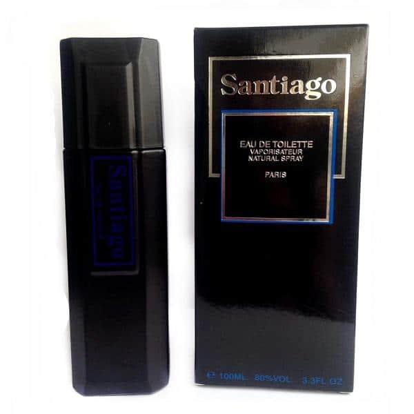 ادو تویلت Santiago برند لومانی مردانه حجم 100 میلی لیتر