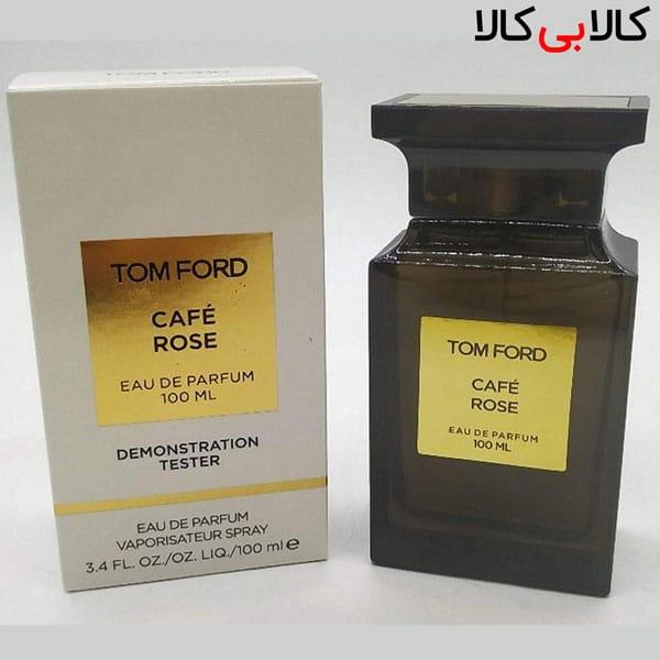 تستر ادوپرفیوم تام فورد کافه رز Tom Ford Cafe Rose زنانه و مردانه 100 میلی لیتر