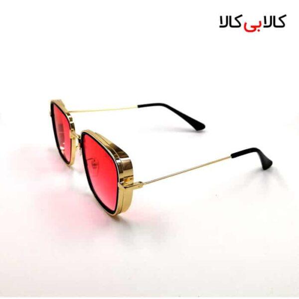 عینک آفتابی زنانه دیتیای مدل 9537 عدسی قرمز