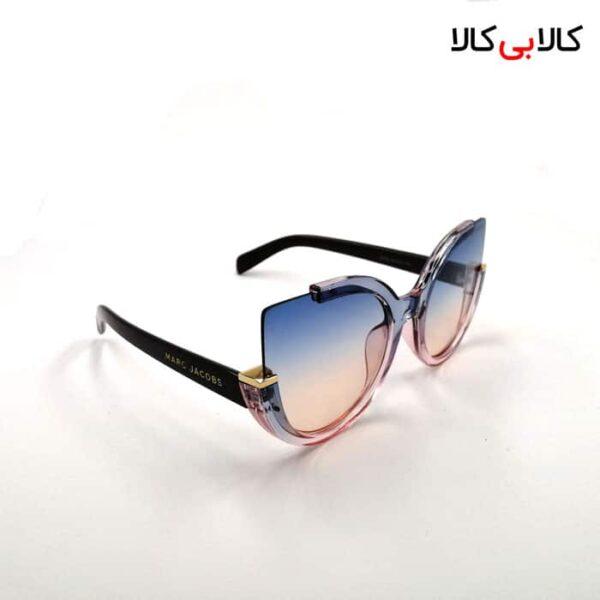 عینک آفتابی گربه ای زنانه مارک جیکوبز مدل 8252 چند رنگ با فرم شیشه ای
