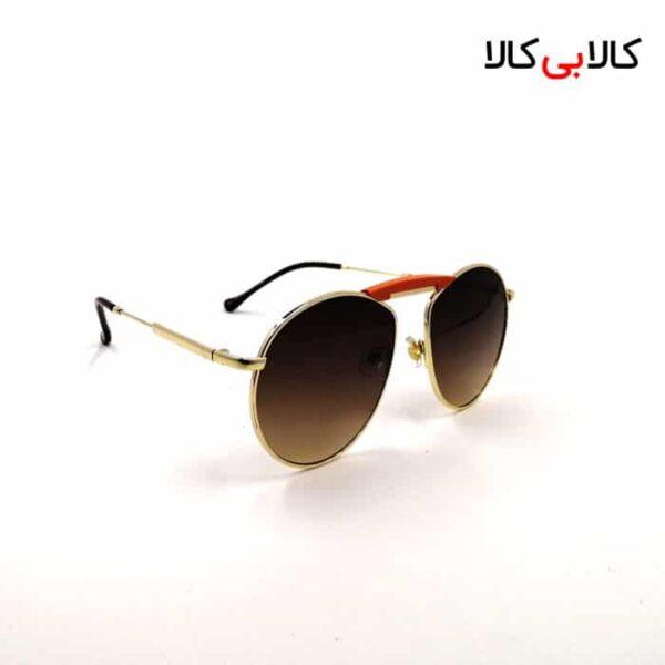 عینک آفتابی ری بن مردانه و زنانه مدل 6297 شیشه گرد قهوه ای