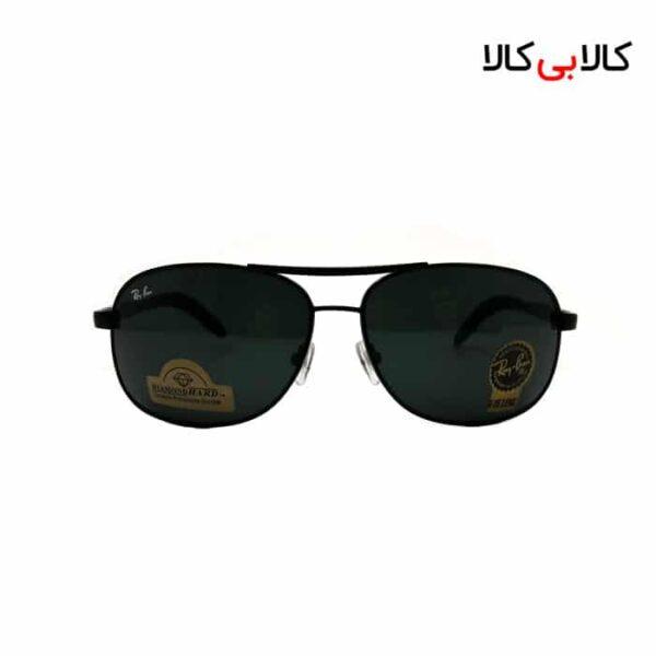 عینک آفتابی مردانه ری بن مدل RB3387 مشکی
