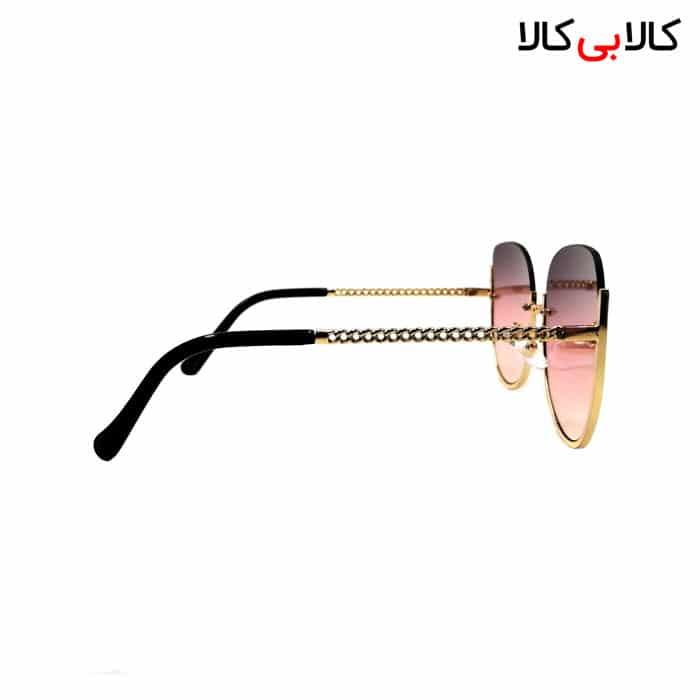 عینک آفتابی زنانه شانل ( chanel ) مدل 2384 های لایت صورتی