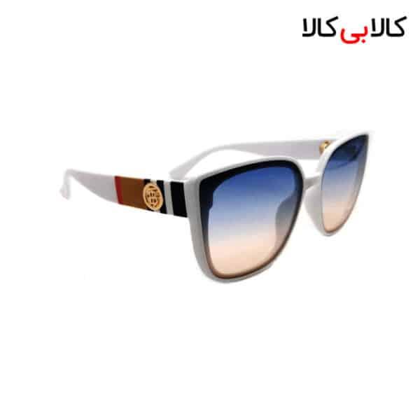 عینک آفتابی زنانه بولگاری مدل Bv-2860 دسته سفید