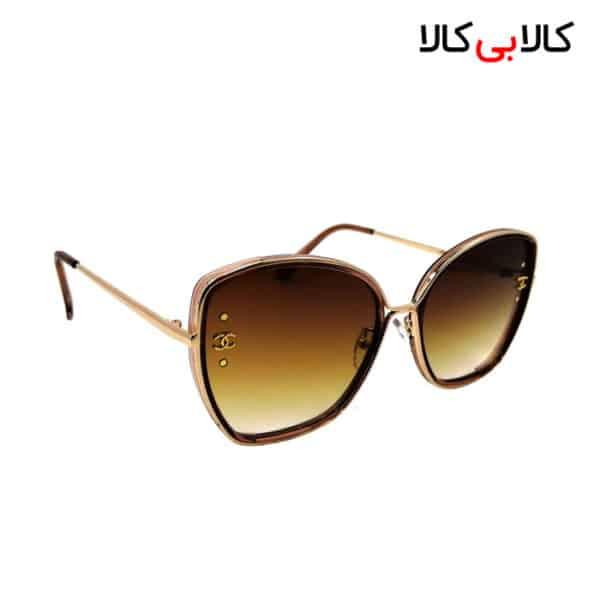 عینک آفتابی زنانه شانل ( CHANEL ) مدل 5862 بدنه قهوه ای