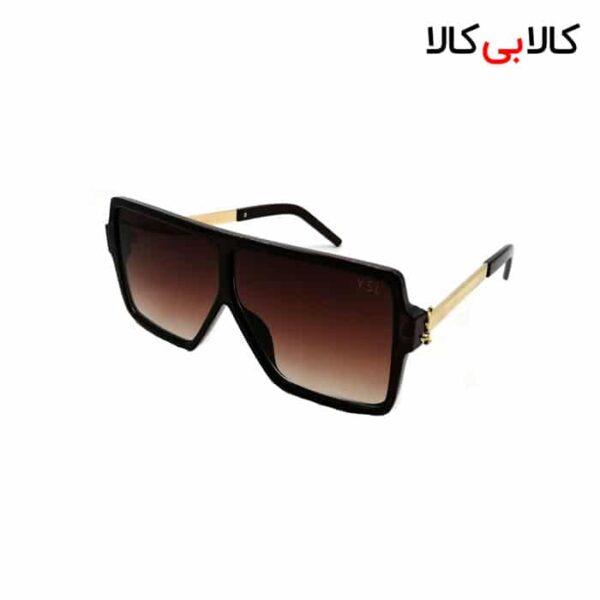 عینک آفتابی زنانه ایو سن لوران YSL مدل 3008 قهوه ای