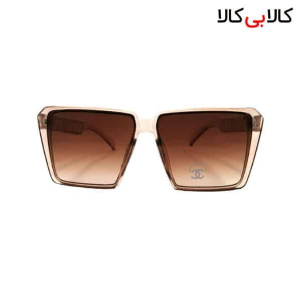 عینک آفتابی زنانه شانل ( chanel ) مدل TR-8621 بدنه صورتی