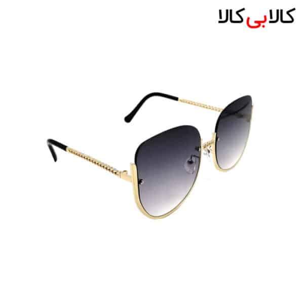 عینک آفتابی زنانه شانل ( chanel ) مدل 2384 های لایت مشکی