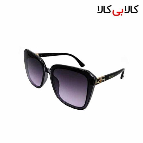 عینک آفتابی زنانه گوچی ( GUCCI ) مدل 2130 مشکی