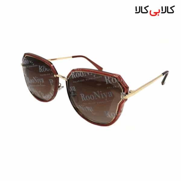 عینک آفتابی زنانه رونیا مدل p-9349 قهوه ای