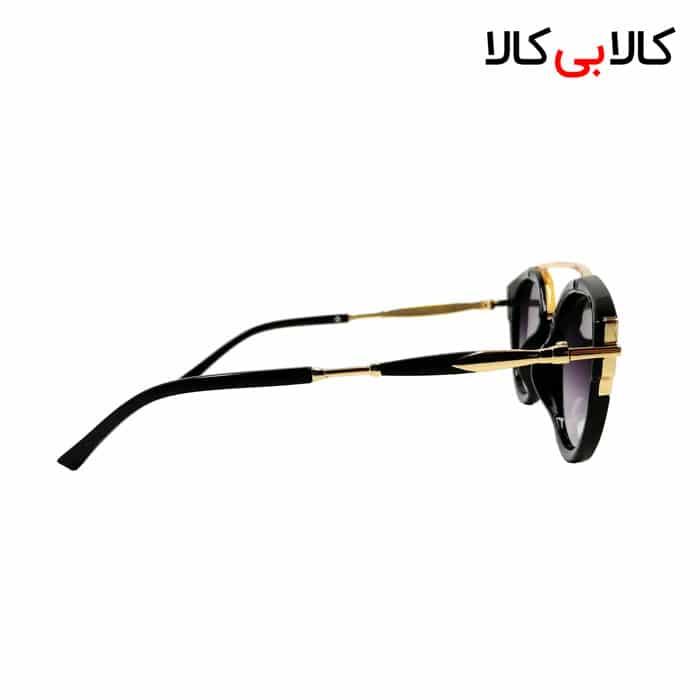 عینک آفتابی زنانه ویلی بولو ( wili bolo ) مدل L80-044 هایلایت مشکی
