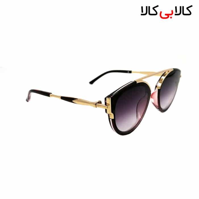 عینک آفتابی زنانه ویلی بولو ( wili bolo ) مدل L80-044 هایلایت مشکی - قرمز