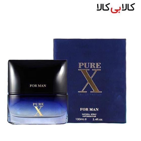 ادوپرفیوم فراگرنس ورد پیور ایکس فورمن Pure X For Men مردانه حجم 100 میلی لیتر
