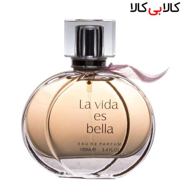 ادوپرفیوم فراگرنس ورد لاویدا اس بلا La Vida Es Bella زنانه حجم 100 میلی لیتر