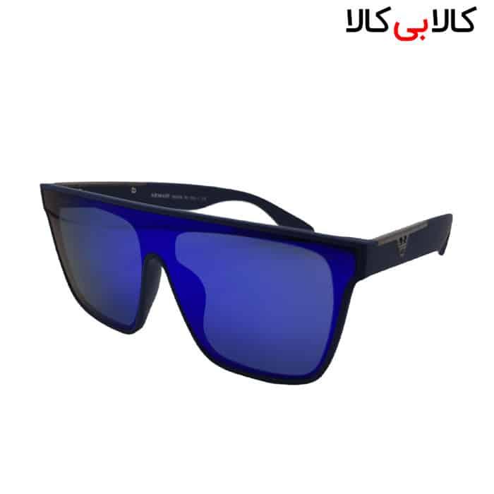 عینک آفتابی مردانه و زنانه امپریو آرمانی مدل WT2020 بدنه سرمه ای رفلکس بنفش