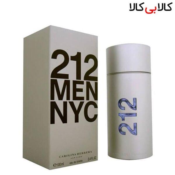 تستر ادوتویلت کارولینا هررا 212 اِن وای سی Carolina Herrera 212 Men NYC مردانه 100 میلی لیتر