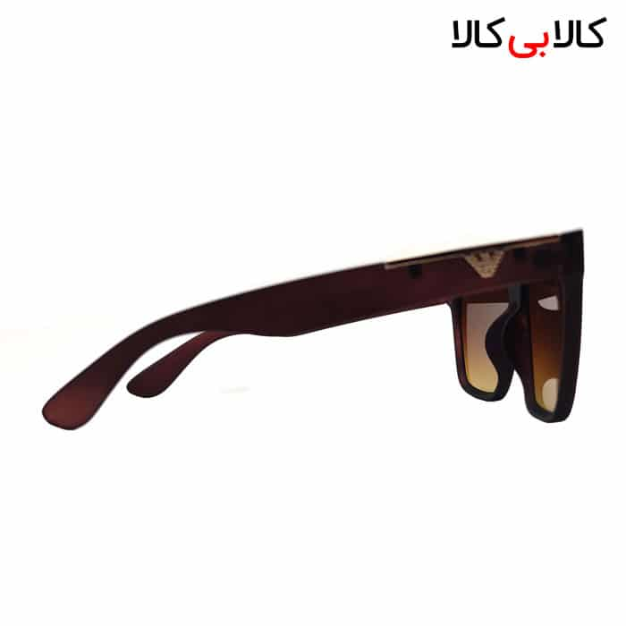 عینک آفتابی مردانه امپریو آرمانی Emporio Armani مدل WT2020 قهوه ای
