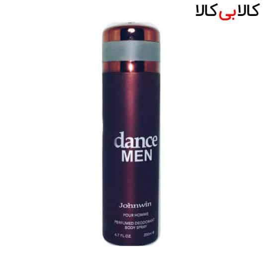 اسپری بدن دئودورانت جانوین مدل دنس من dance MEN مردانه حجم 200 میل