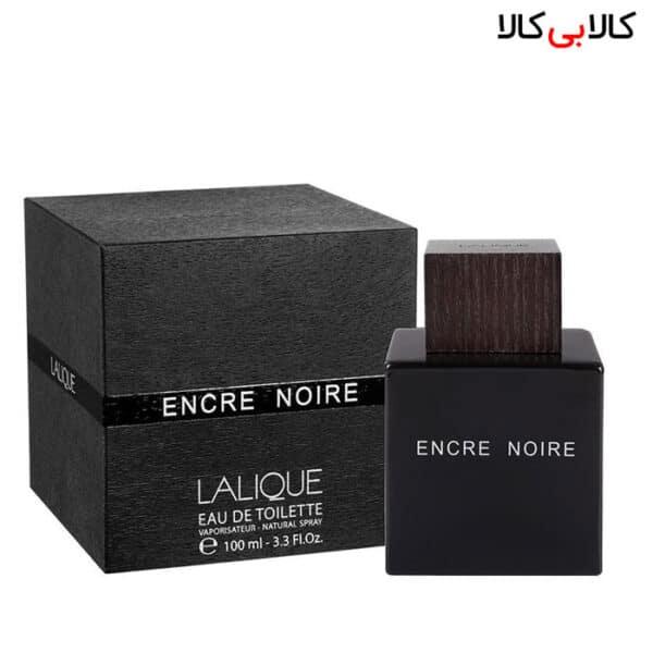ادوتویلت لالیک انکر نویر Encre noire Lalique مردانه حجم 100 میلی لیتر باکس اصلی