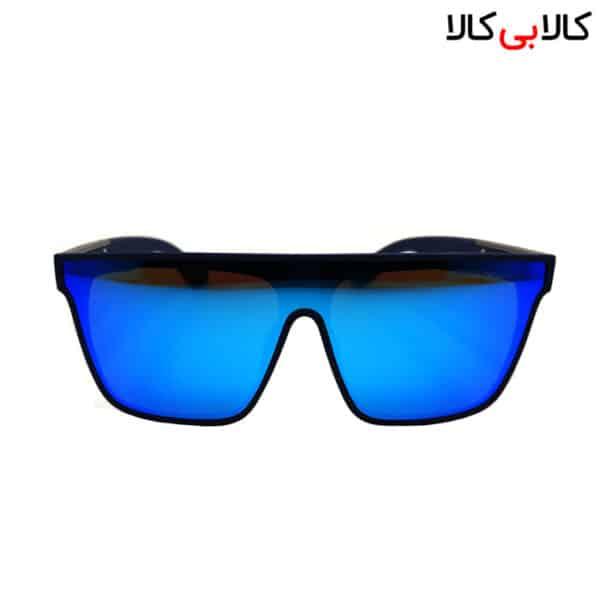 عینک آفتابی مردانه و زنانه امپریو آرمانی مدل WT2020 بدنه سرمه ای رفلکس آبی
