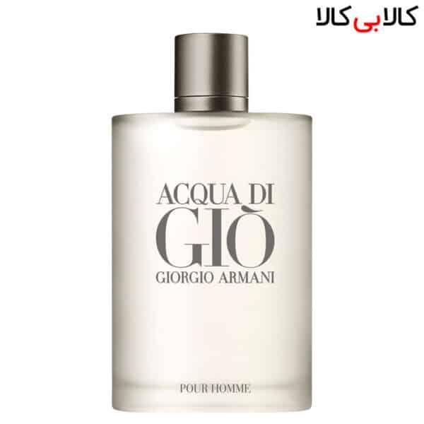 ادو تویلت آکوا دی جیو جورجیو آرمانی پور هووم Acqua di Gio Giorgio Armani Pour Homme مردانه حجم 100 میلی لیتر باکس اصلی