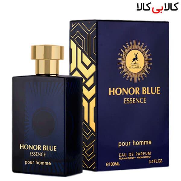 ادوپرفیوم الهامبرا هانر بلو ایسنس پور هوم Alhambra Honor blue essence pour homme مردانه حجم 100 میلی لیتر