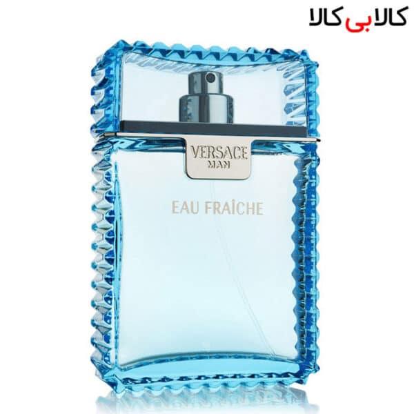 تستر ادوتویلت ورساچه او فرش Versace Eau Fraiche مردانه حجم 100 میلی لیتر